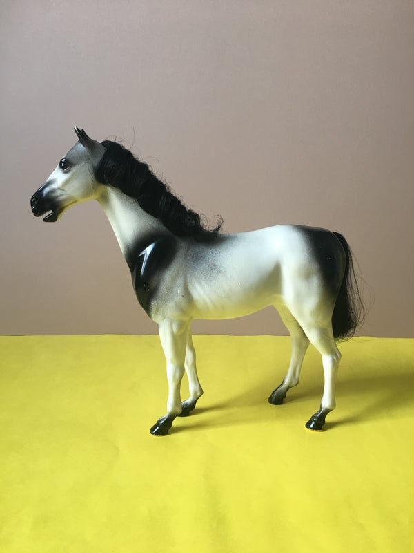 Dapple Grey toy horse scale 1:6