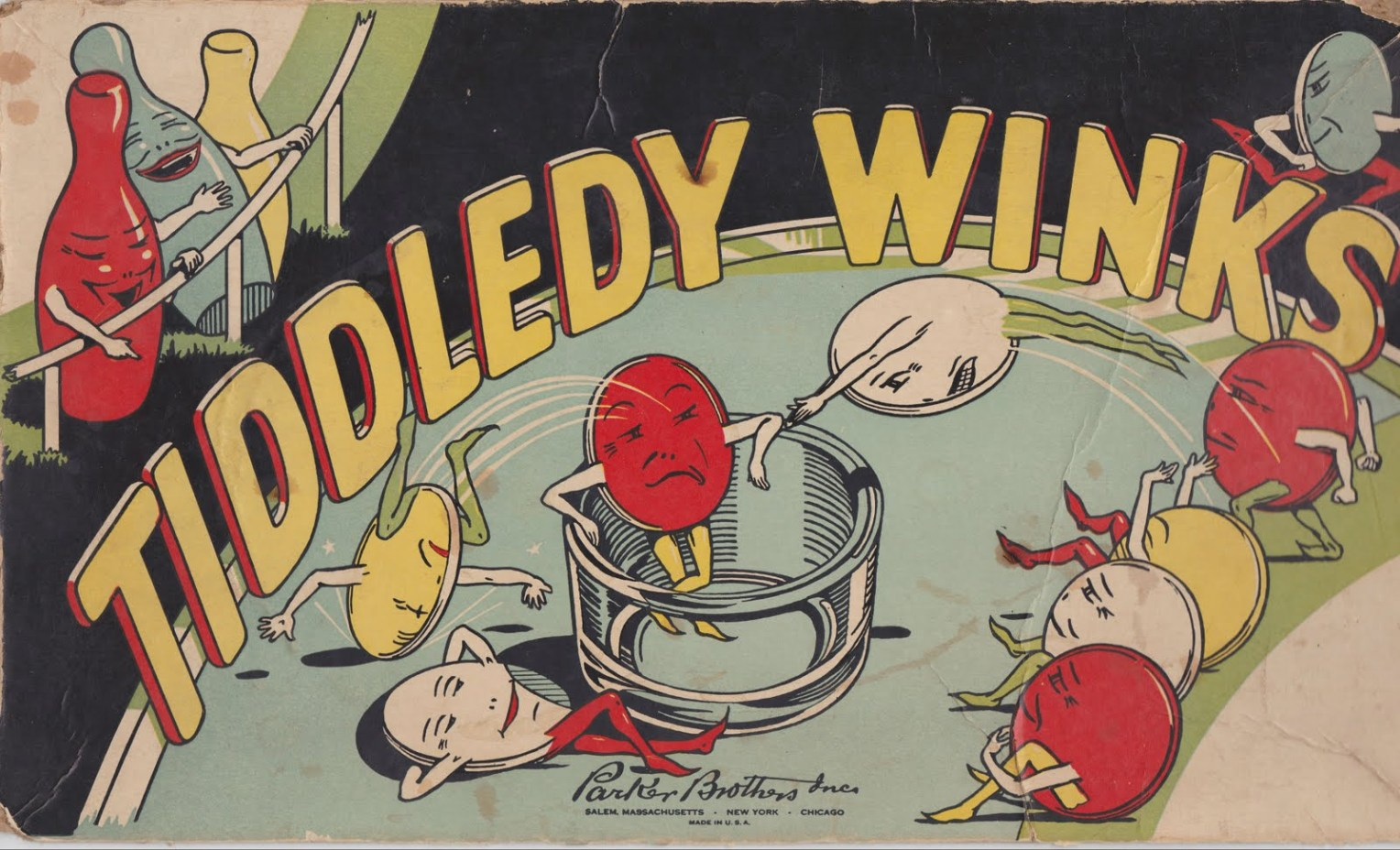 Tiddledy Winks illustration