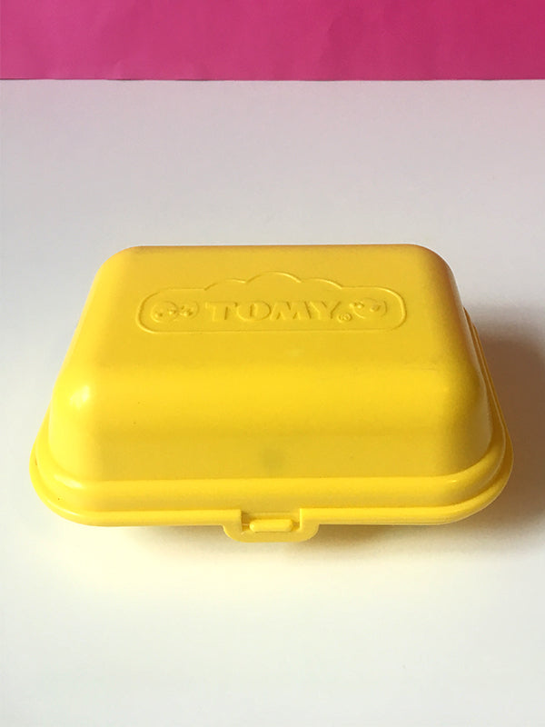 Tomy egg box - with lid closed.
