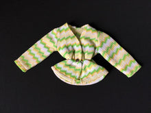 Load image into Gallery viewer, Palitoy Action Girl Belgravia Set Elizabeth zig zag pattern long sleeve top