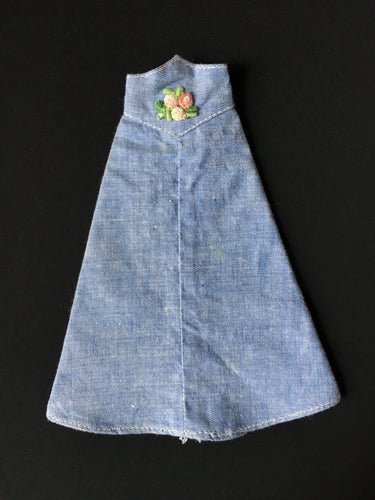 Palitoy Action Girl Mayfair Set Blue Moon denim skirt embroidery flowers
