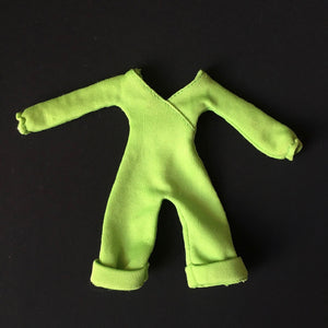 "Charlie's Angels Kris green jumpsuit 1977 Hasbro 4850 fit 9"" doll"