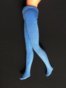 "ShimmyShim fashion doll tights custom fit 1980s 11"" Sindy dolls 1:6 stretchy"