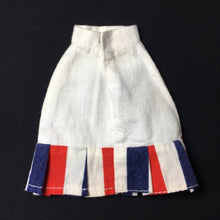 Load image into Gallery viewer, Pedigree Sindy Sunshine Girl skirt 1978 #44693 red blue white stripe hem