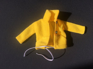 "Sindy yellow jacket 1979 Mix 'n' Match Pedigree 44332 fit 12"" doll"