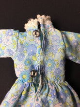 Load image into Gallery viewer, Sindy Bridesmaid dress 1973 Pedigree S209 pale blue floral maxi