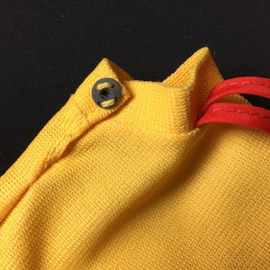 Sindy Quick Changes skirt 1975 Pedigree 44253 yellow red trim