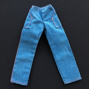 "Kenner Bionic Woman ""Casual Day"" 1976 #66150 denim jeans fit 12"" doll"