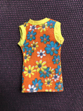 Load image into Gallery viewer, Pedigree Sindy Sunflower 1975 waistcoat flower power orange 44233