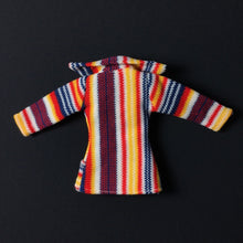 "Load image into Gallery viewer, Pedigree Sindy ""Blazer Beauty"" jacket 1974 stripe S221 fit 12"" doll"