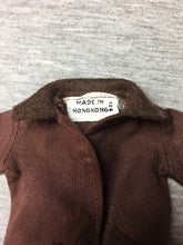"Load image into Gallery viewer, Vintage Palitoy Action Girl ""Pony Club"" #32825 brown horse riding jacket for 12"" doll"