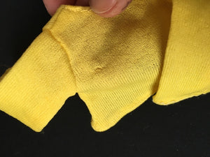 Pedigree Sindy Zing a Ding 1973 yellow top long sleeve S210 scale 1:6
