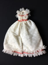 "Load image into Gallery viewer, Faerie Glen wedding dress white with lace ruffles 11"" 12"" doll clothes"