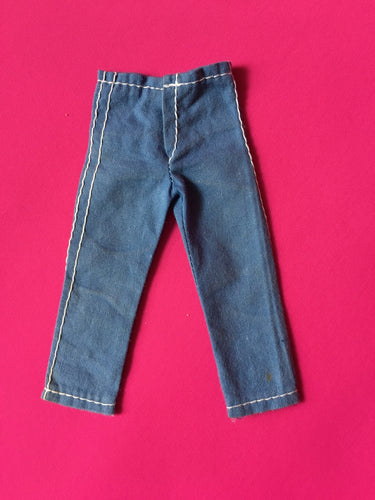 Action Man Adventurer trousers 1970 blue Palitoy 34012 fit 12