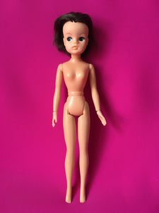 Sindy Active Ballerina doll 1977 brunette dancer Pedigree 44655 posable