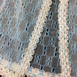 "Pedigree Sindy ""Misty Blue"" 1977 blue net lace peignoir negligee 44300"