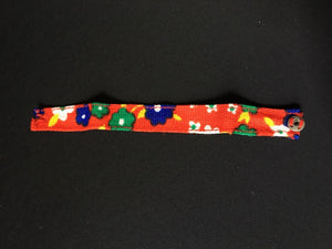 Sindy Weekender bandana 1978 Pedigree 44686 red floral headband