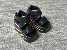 Load image into Gallery viewer, Creatable World platform sandal shoes fit Sindy doll feet up to 2.5cm long