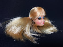 Load image into Gallery viewer, Vintage Mattel Barbie P.J doll head rooted lashes pigtail hair bunches spare part