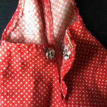 Load image into Gallery viewer, Pedigree Sindy Sun Suit 1974 red polka play suit hot pants S137