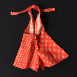 Pedigree Sindy Sun Suit 1974 red polka play suit hot pants S137