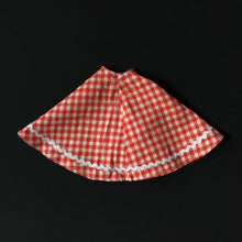 Load image into Gallery viewer, Palitoy Tressy Hair Grows 1979 red gingham check skirt 4th issue