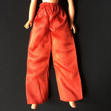 Load image into Gallery viewer, Pedigree Sindy Mandarin 1976 red satin variant trousers 44529