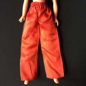 Pedigree Sindy Mandarin 1976 red satin variant trousers 44529
