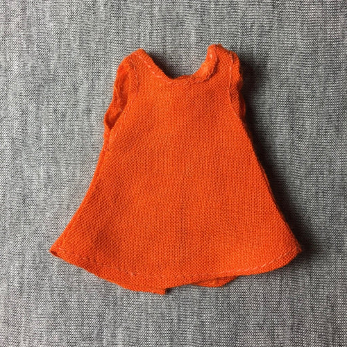 Miniature Sindy Day Girl dress orange fit Sarah Louise Judy 6