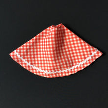 Load image into Gallery viewer, Palitoy Tressy Hair Grows 1979 red gingham skirt