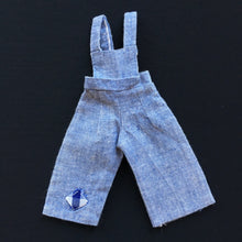 "Load image into Gallery viewer, Sindy Country Cousins dungarees 1978 Pedigree 44171 fit 11"" doll"