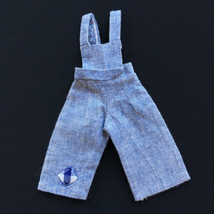 "Sindy Country Cousins dungarees 1978 Pedigree 44171 fit 11"" doll"