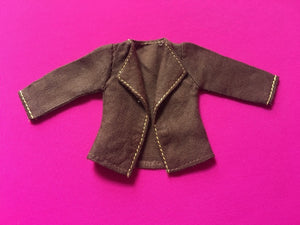 "Sindy brown jacket 1979 Mix 'n' Match Pedigree 44334 fit 12"" doll"