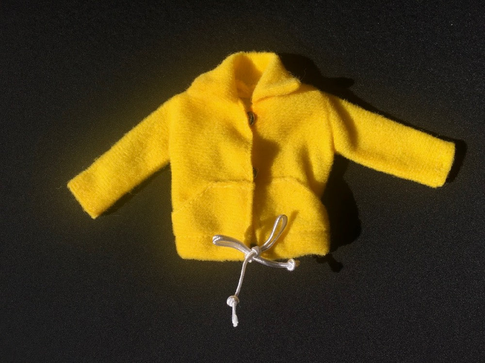 Sindy yellow jacket 1979 Mix 'n' Match Pedigree 44332 fit 12