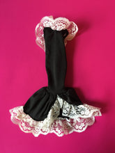 "Load image into Gallery viewer, Sindy Sophisticated Lady dress 1985 Pedigree 43083 black fishtail gown  fit 12"" doll"