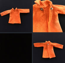 Load image into Gallery viewer, Pedigree Sindy Tangerine Dress 1971 long sleeve mini 12S108 doll clothing