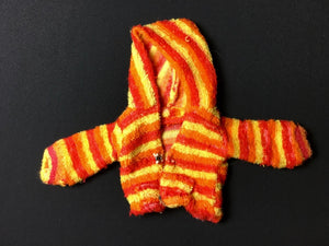 Sindy Windswept 1979 stripe towelling hood jacket top Pedigree 44203