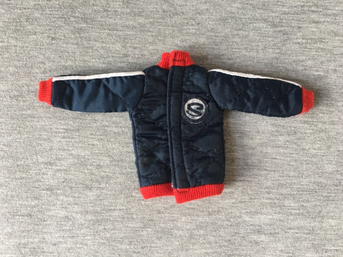 Sindy Winter Sports jacket 1978 navy blue padded quilt 44428