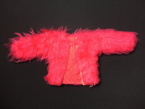 Pedigree Sindy jacket 1977 pink faux fur  Mix n Match  44158