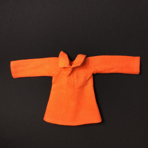 Pedigree Sindy Tangerine Dress 1971 long sleeve mini 12S108 doll clothing