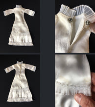 "Load image into Gallery viewer, Sindy Wedding Bells dress 1976 white satin clothes 44288 fit 12"" fashion doll"