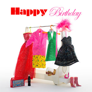Birthday and occasion gift cards by ShimmyShim. Square shape, blank inside.