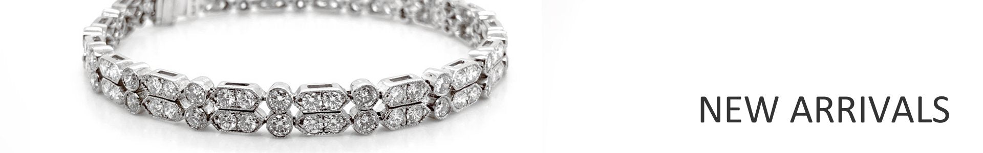 New Arrivals - Platinum Diamond Jewelry