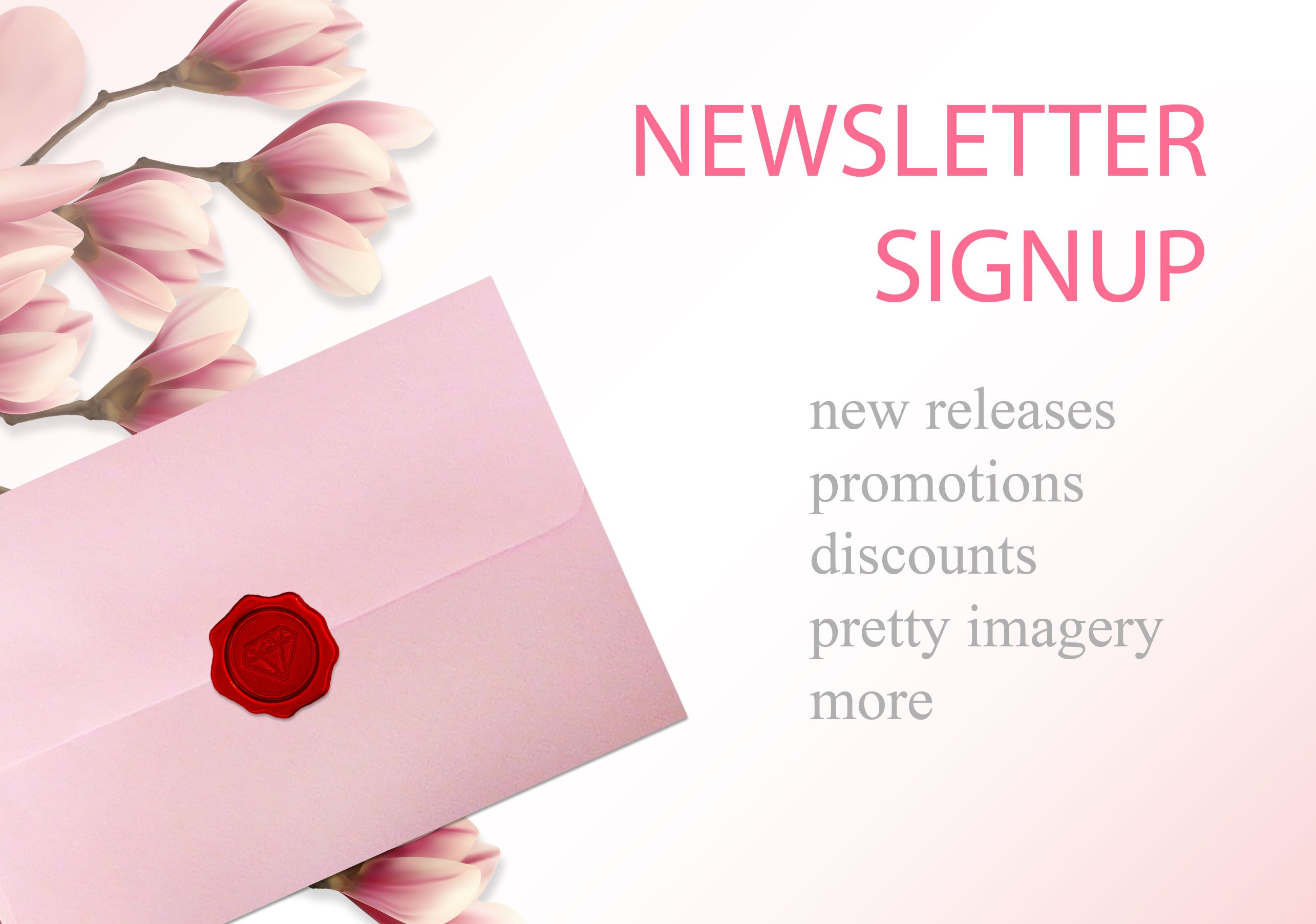Newsletter Signup - envelope
