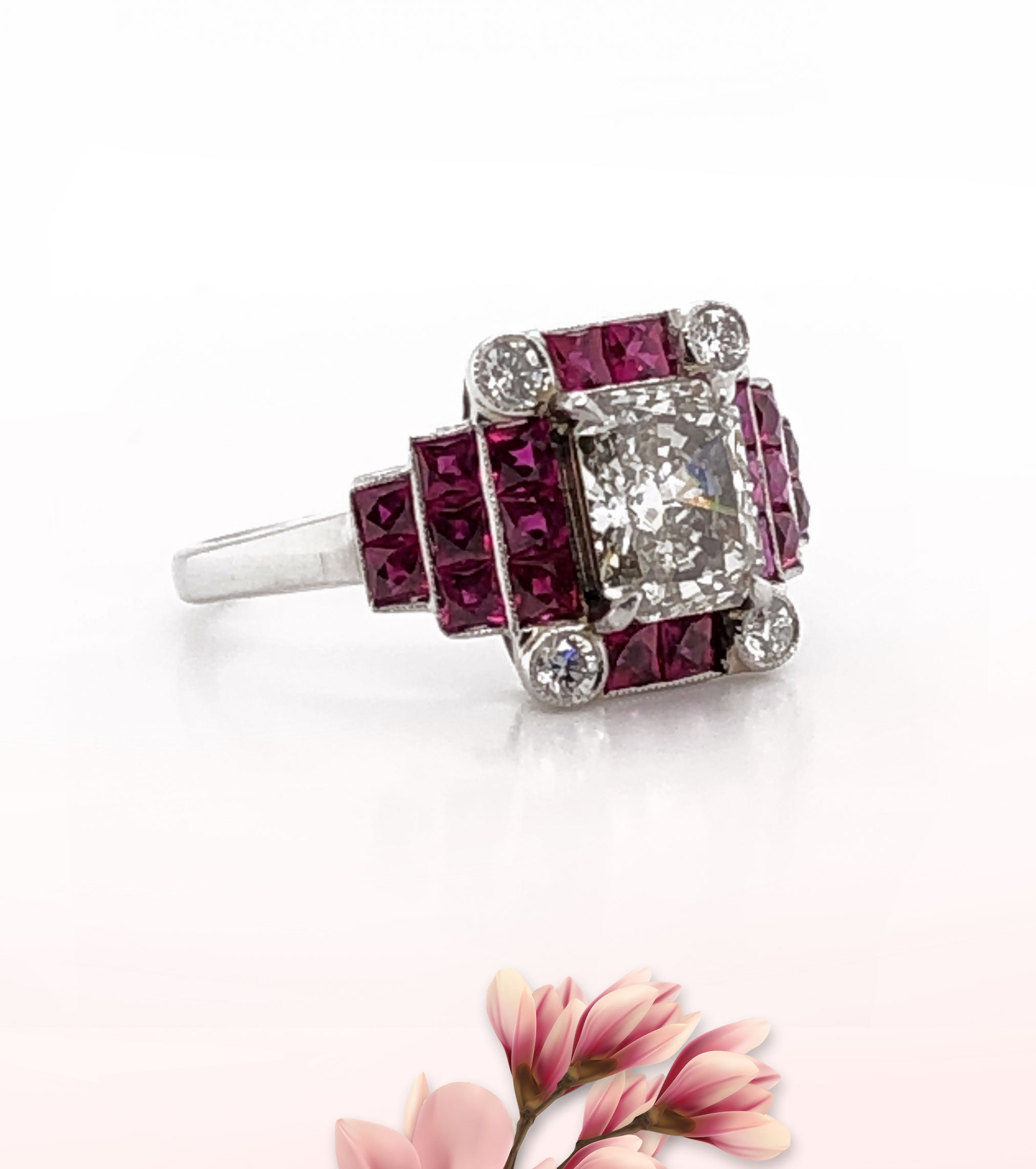 Ruby ring - Max Jewelry Inc.