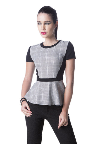 Ivonne Peplum Top