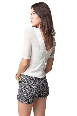 Rosalita Tweed Shorts