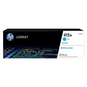 HP 415A Cyan Original LaserJet Toner Cartridge - M454 / M479