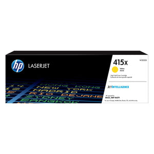 HP 415X Yellow Original LaserJet Toner Cartridge - M454 / M479