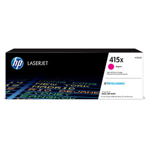HP 415X Magenta Original LaserJet Toner Cartridge - M454 / M479